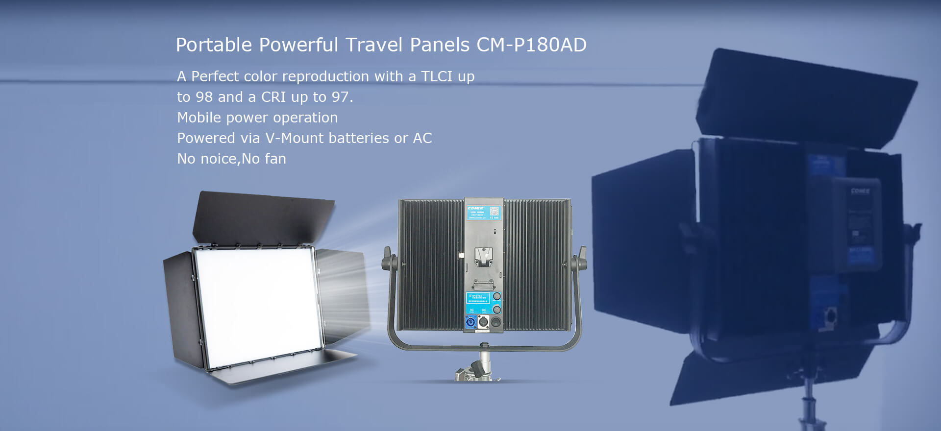 Portable powerful travel Panels CM-P180AD