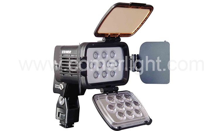 COMER Classic Super power LED on-camera light 1800